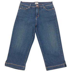Levi's ~ 512 Perfectly Slimming Capri Jeans